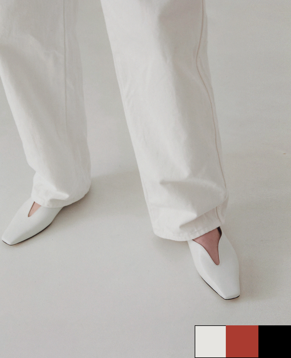 Haze Daze Flats - WHITE